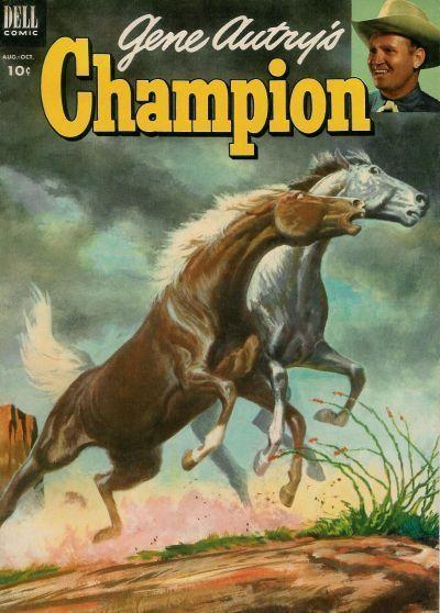 Dell Comics Are Good Comics | GENE AUTRYS CHAMPION #11 Good, Dell Western Comics 1953