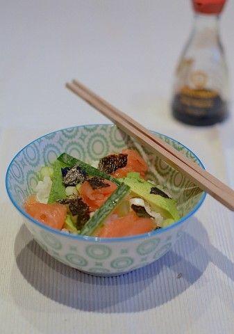 Koken op de Camping: Sushi bowl -