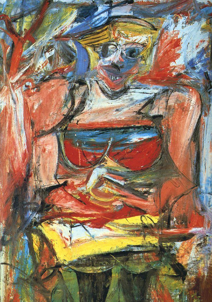 """Willem de Kooning: """"Woman V"""""""