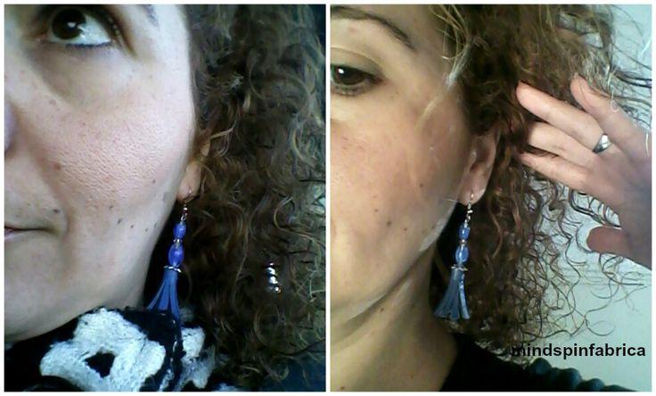 Σκουλαρίκια με χάντρες και φούντες_mindspinfabrica