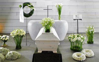 Ljus begravning