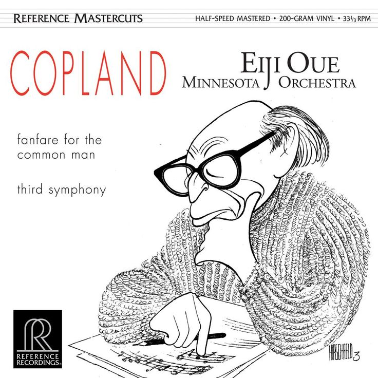 .@mn_orchestra #Copland recording 200-gram #audiophile #vinyl available for pre-order today at http://referencerecordings.com/