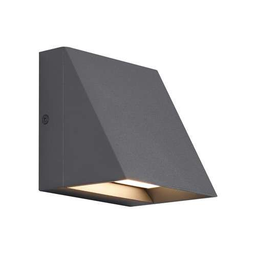 Pitch led outdoor wall light