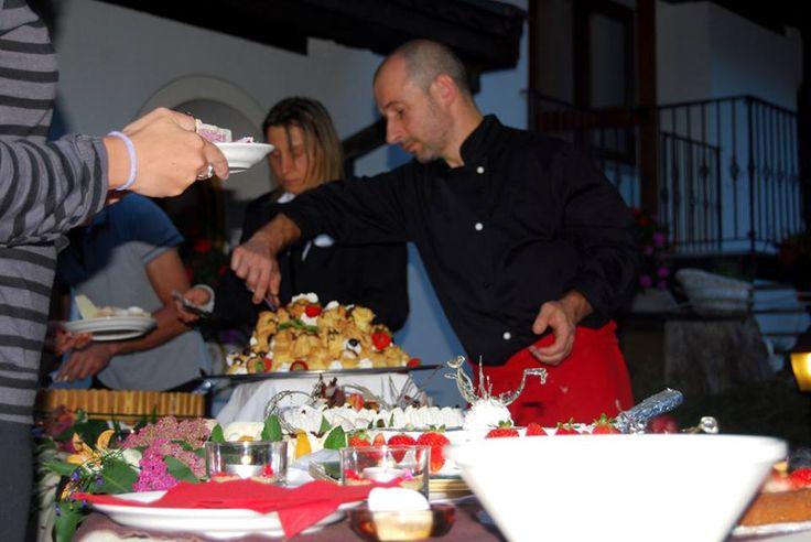 Lo chef Felice e il buffet dolce dolce