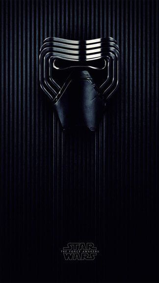 The Force Awakens - Kylo Ren Mask iPhone 6 / 6 Plus wallpaper