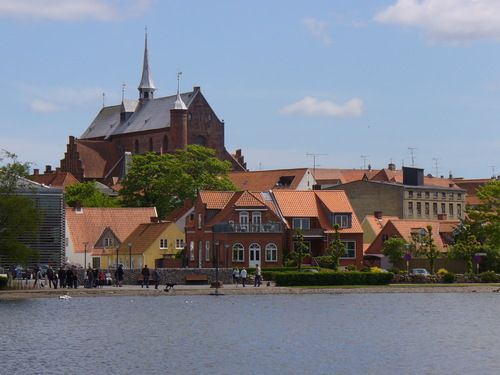 Our lake by downtown Haderslev.