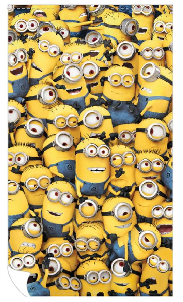 Despicable Me Strandlaken Allemaal Minions 160 x 90 cm - Famous Wannahaves  http://www.famouswannahaves.be/despicable-me-strandlaken-allemaal-minions.html