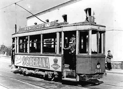 Antiguo tranvía de MADRID