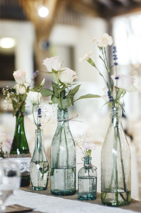 152 best wedding centerpieces images on pinterest decorating ideas pronovias for a pretty barn wedding in yorkshire junglespirit Choice Image