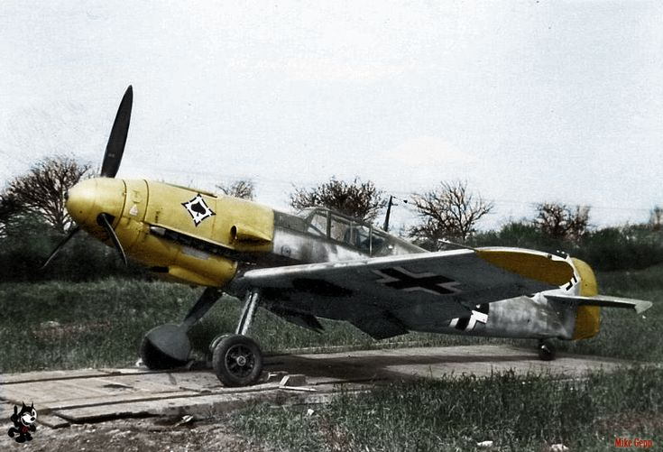 """BF-109F from JG53 """"pik As"""""""
