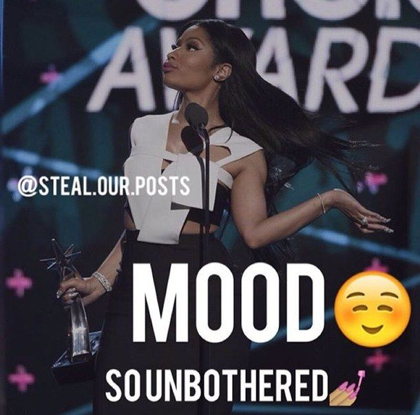 award, celebrity, flawless, hair flip, mood, nicki minaj, queen, reaction, steal.our.posts, unbothered, bet music awards