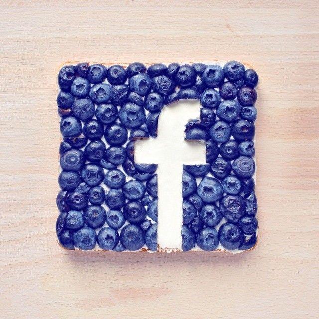 Creative Food Art by Daryna Kossar (Berries)