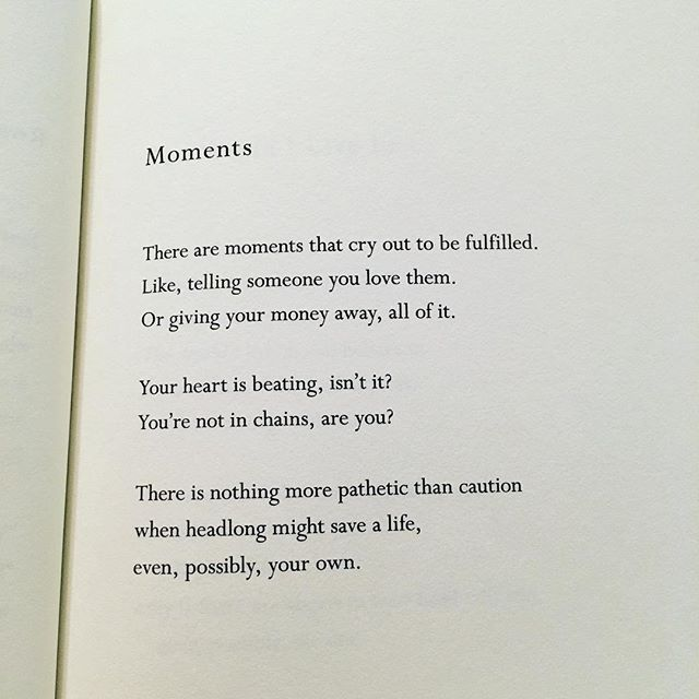 Mary Oliver does it again.