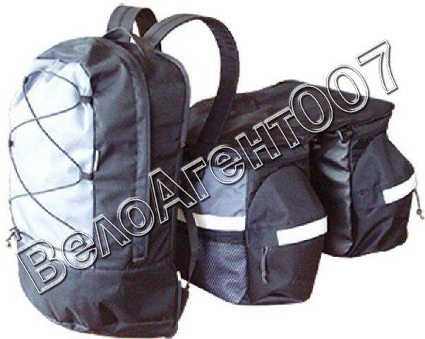 Велосумки и велорюкзаки. Как подобрать велосипедный рюкзак и его отличие от велосипедной сумки - Велоагент 007