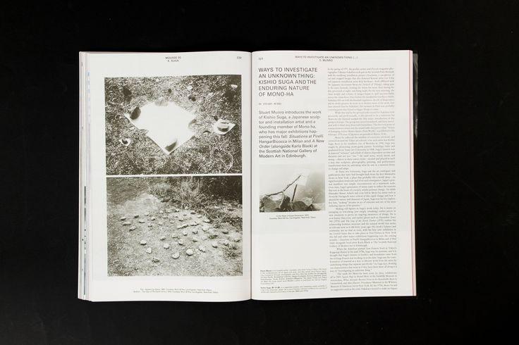 Mousse Magazine 55 ~ #stuartmunro #kishiosuga #moussemagazine #contemporaryart #art #magazine