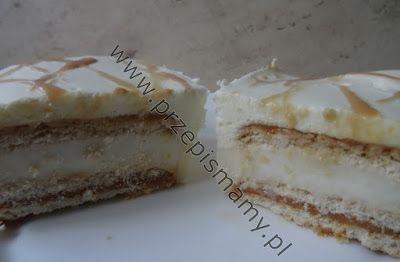 """www.przepismamy.pl: Ciasto bez pieczenia""""Toffifee"""""""