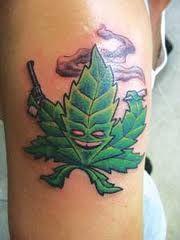 Cool Marijuana Tattoos | Culture Marijuana Blog | THC Finder - THC ...