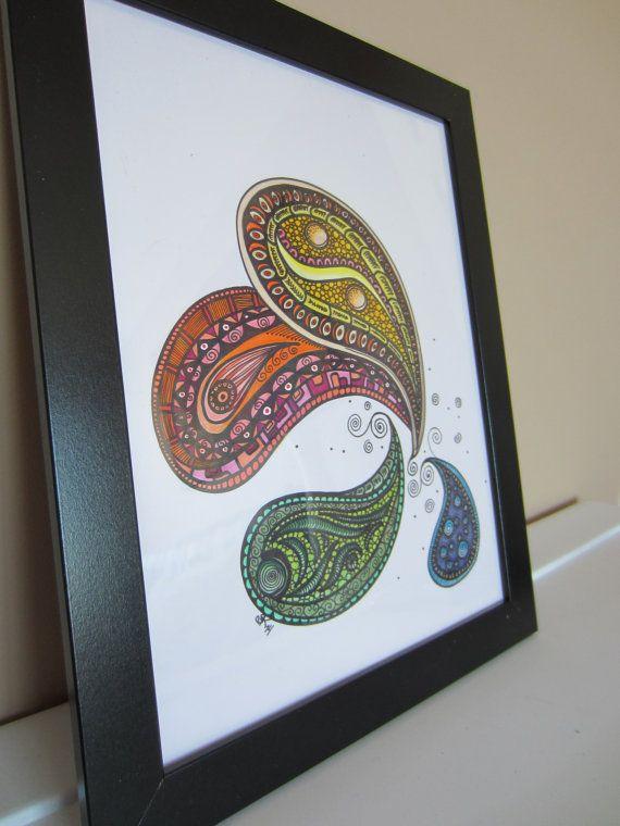 Best 25+ Paisley drawing ideas on Pinterest | Paisley ...