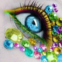Colorful jewels