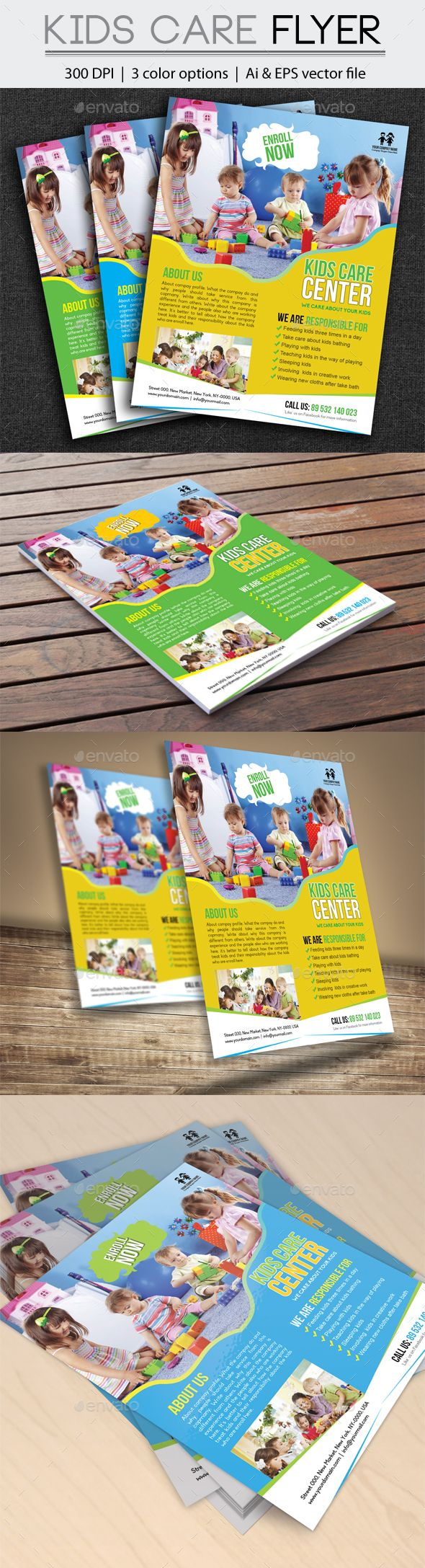 best ideas about advertisement template wedding graphicriver kids care flyer advertisement announcement baby babyflyer born