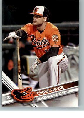 2017 Topps Baseball 95 Chris Davis - Baltimore Orioles