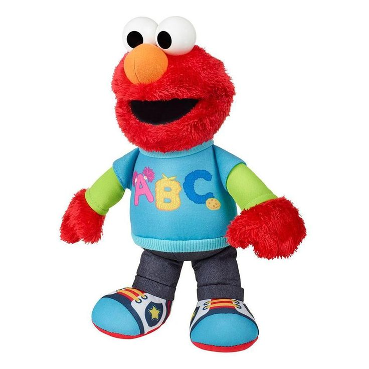 Sesame Street Talking Elmo Figure Educational Learn Alphabet Toys sold by http://exquisiteproductmarketing.com