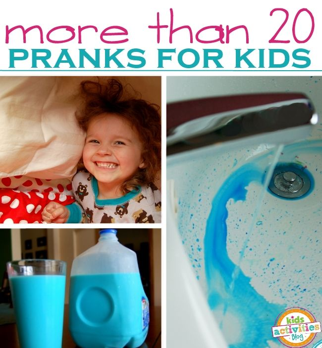 Simple & Easy April Fools Day Pranks that kids will ADORE.