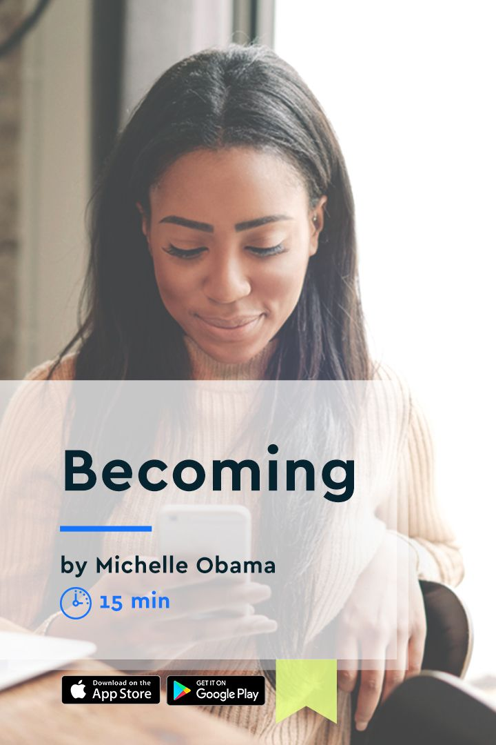 Becoming tells the story of Michelle Obama, née Robinson, who was
