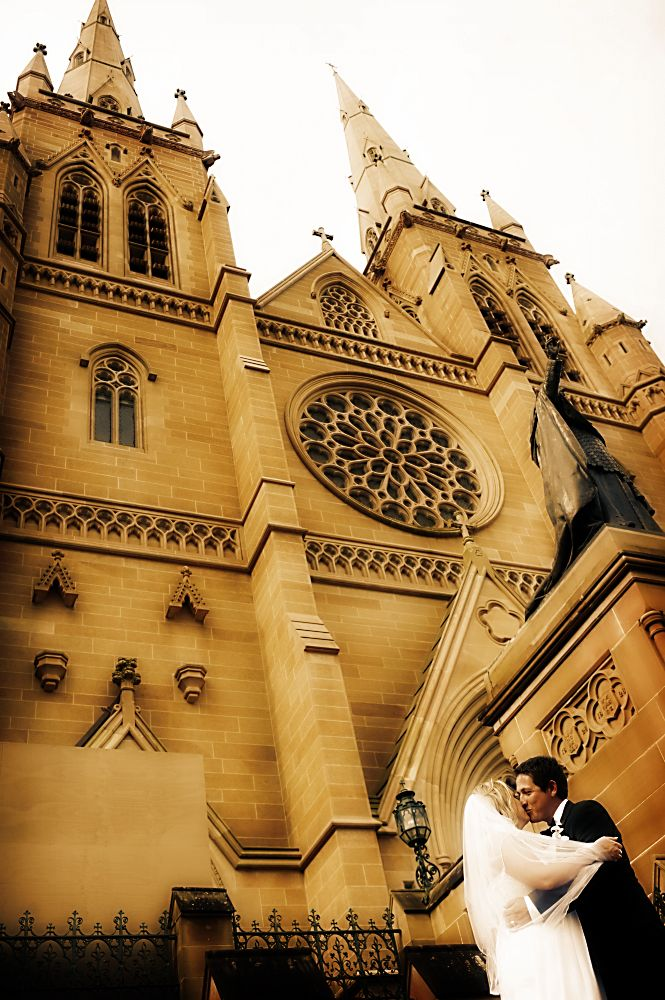 St Mary's Cathedral in Sydney's CBD is an amazing location for your wedding ceremony on the Central Coast. For more photos, visit http://www.impact-images.com.au/  #weddingchurchcentralcoast #weddingchurchnsw