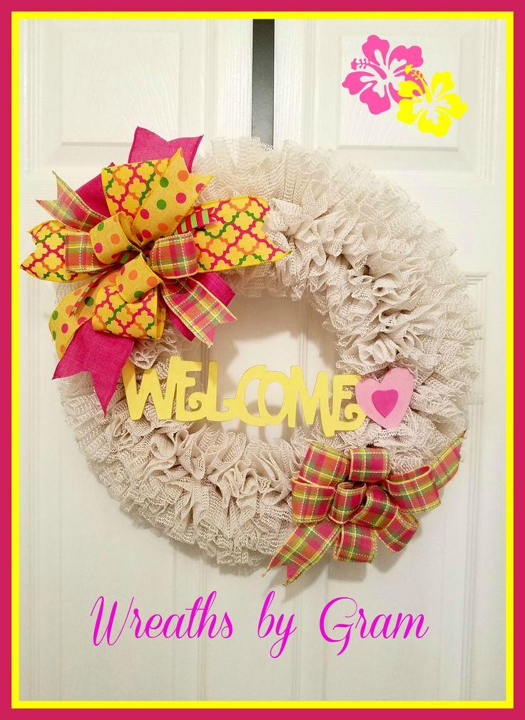 Grip Liner Wreath; Shelf Liner Wreath; Spring Wreath; Farmhouse Decor; Valentine Wreath; Summer Wreath; Gift for Her; Wreaths for Front Door; Front Door Wreaths;  All Season Wreath; Wreaths for Front Door Year Round; Rustic Wall Decor; All Occasion Wreath    #wreaths #Spring #springdecor #homedecor #rusticdecor #giftideas #farmhousedecor #frontdoorwreaths #wreathsbygram #Summer #valentine #summerdecor #frontdoor