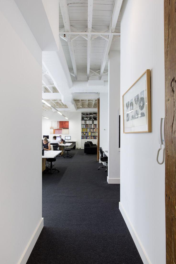 Interior photography of Denomination Design studio, Ultimo. Photography by Burrough Photography.
