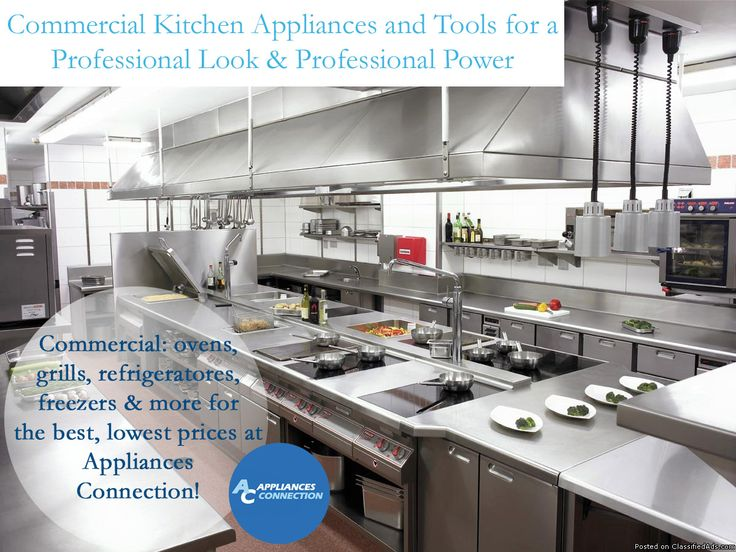 We carry a top selection of commercial ovens, commercial grills, warming appliances, commercial refrigerators and freezers, commercial ice machines, commercial beverage units and professional food preparation appliances (like blenders, meat slicers and meat processors)! We can supply the best brands at the best prices for your business, with several style variations to suit a number of restaurant styles.