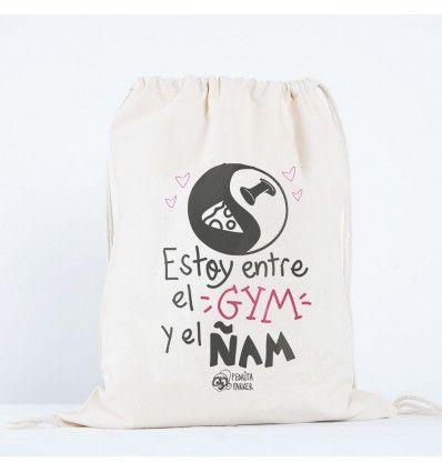 Mochila de tela Gym Ñam - Pedrita Parker