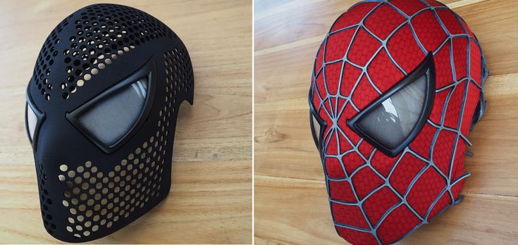 Now Anyone Can Be Spider-Man with This Incredible 3D Printed Spidey Mask