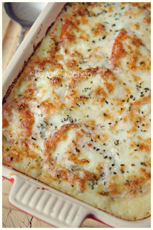 Mozzerella Potato Pie