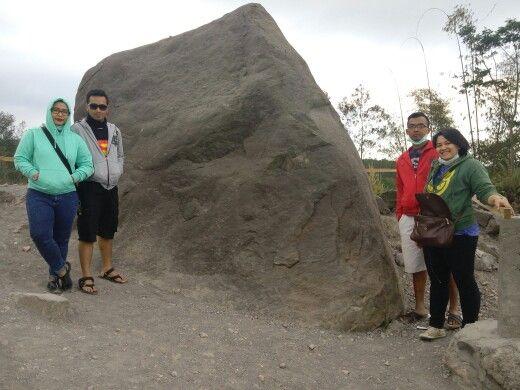 Alien Face Rock, Merapi, Yogyakarta