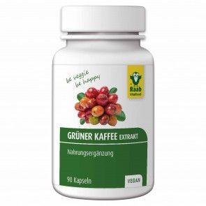 Grüner Kaffee Extrakt Kapseln, 90 Stück