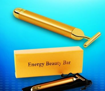 FACE REJUVENATION BEAUTY BAR 1. Hot sell 2. 24K Gold plated, made of copper 3. Anti-aging,anti-wrinkle 4. Patented. Function: 1. Promoting the absorb effect of maquillage; wipe out the secretion of keratin 2. Preventing the aging, enhancing immunity. 3. Promoting the face blood circulation and metabolism. So slack and improve the phenomenon of natural sodium, such as skin flabby, wrinkles, splash,under-eye puffiness and multiplex under jaw result from age.  How to use 1. The face and neck…