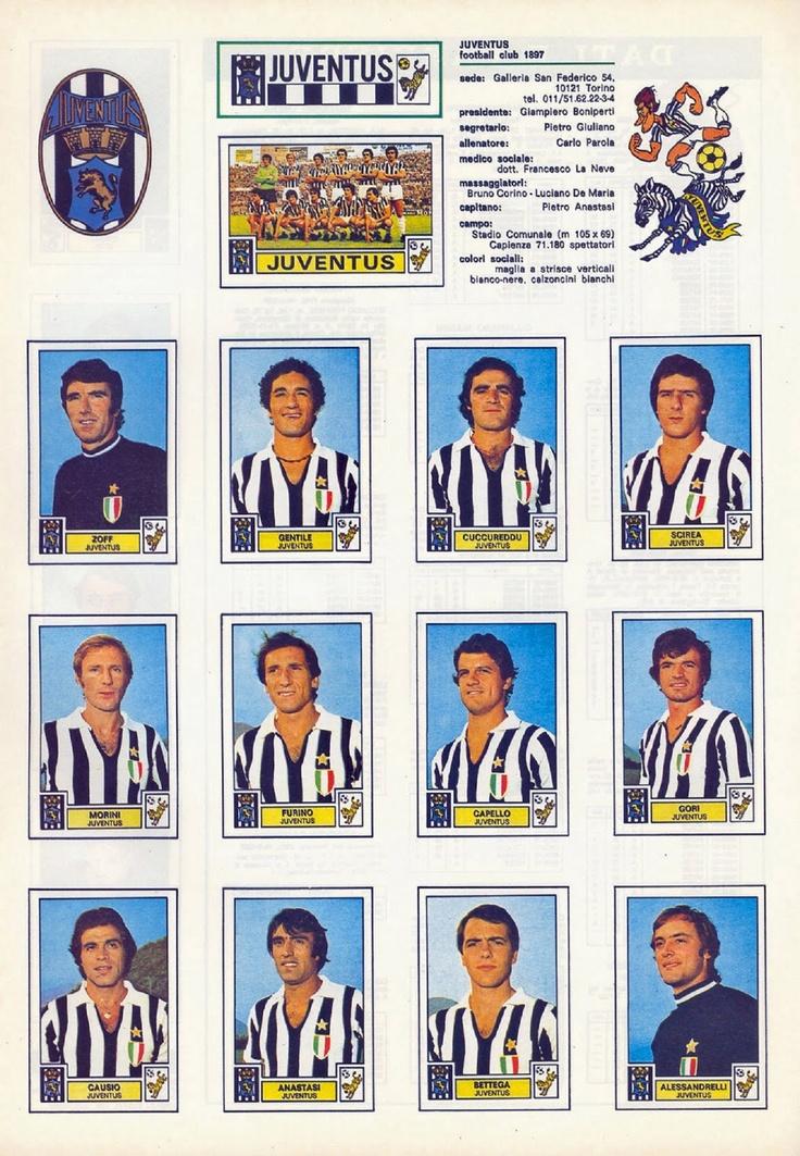 JUVENTUS 1975/76.