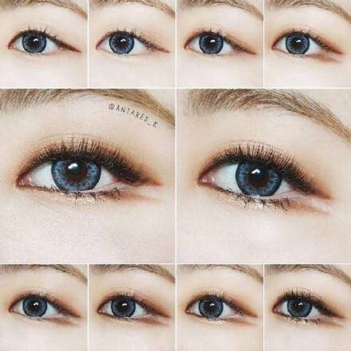 Korean style make up #eye make up #idea