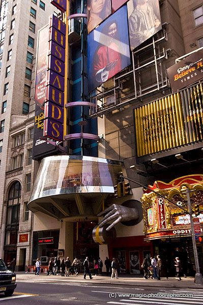 Madame Tussaud wax Museum, 42nd street, Manhattan, New York, USA