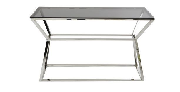 Ł479 express delivery Mercury Console Table Mercury | DFS