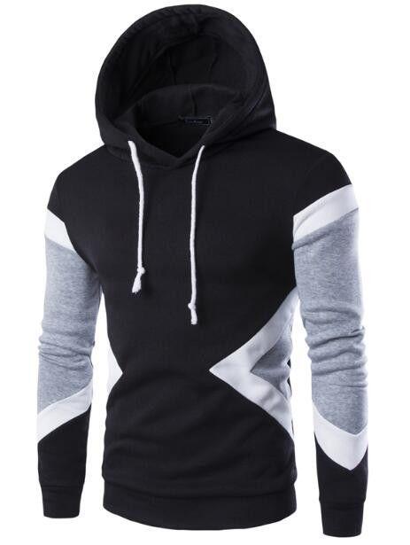 Hoodies Men 2016 Brand Fashion Male Long Sleeve Sudaderas Hombre Hip Hop Mens Hoodie Sweatshirt Suit Casual Men Hoody WAQS