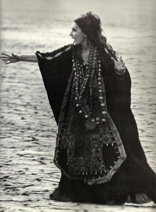 Maria Callas as Medea        Pier Paolo Pasolini, 1969