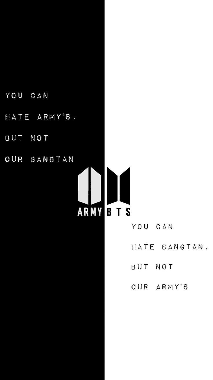 Army wallpaper when bts disband