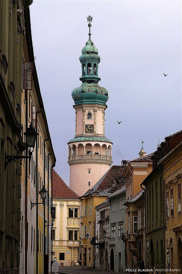 Tűztorony (fire-tower), Sopron, Hongarije
