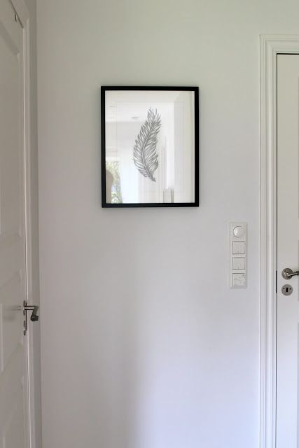 Hallway, feather drawing