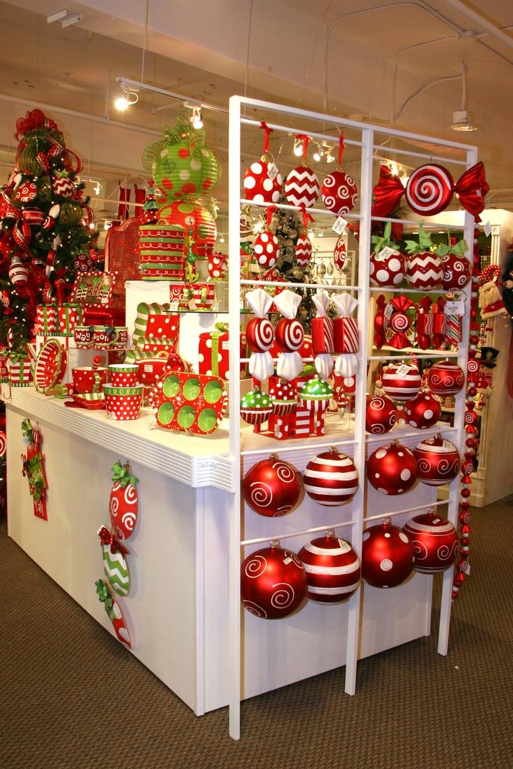 Pinterest christmas bazaar ideas just b cause for Xmas decoration stores