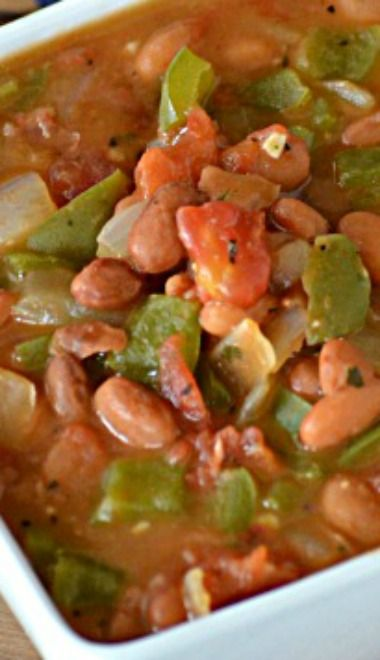 Ranch Style Beans - use homemade ranch mix
