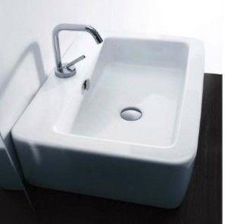 Nocode Ego 60x43cm Basin No tap Hole
